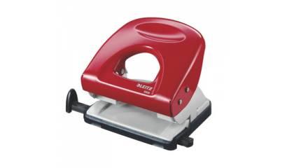 Dziurkacz LEITZ 5008 czerwony 30k