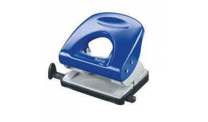 Dziurkacz LEITZ 5008 niebieski 30k