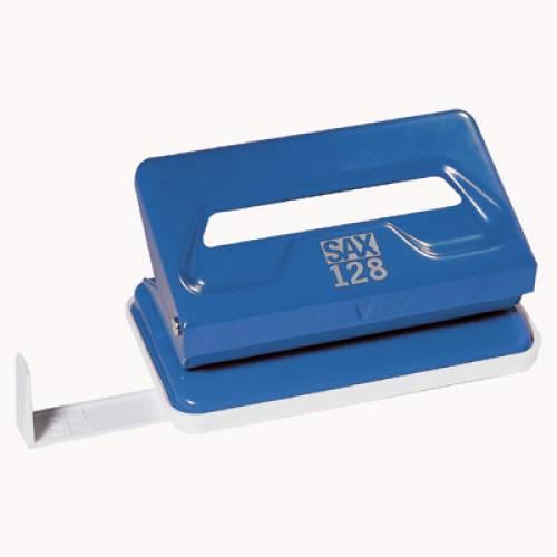 Dziurkacz SAX 128 / S niebieski 12k