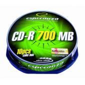 Płyta CD-R ESPERANZA 700MB Cake (10szt)