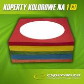 Koperta ESPERANZA na CD/DVD z okienkiem kolorowa (100)