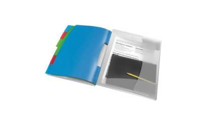 Teczka segregująca PP ESSELTE VIVIDA A4 6 przekładek 624029
