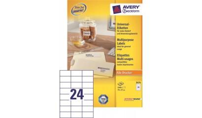 Etykiety samop. ZF Avery 70x37 (100) 3474