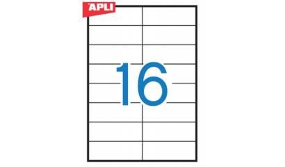 Etykiety samop. APLI 105x37 (100ark.) AP10817