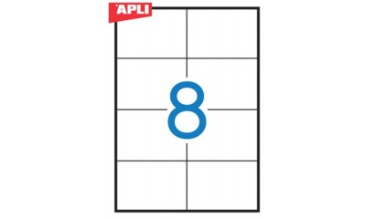 Etykiety samop. APLI 105x74 (100ark.) AP3140