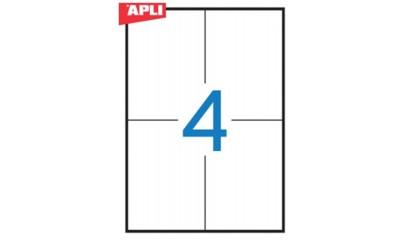 Etykiety samop. APLI 105x148 (100ark.) AP1280