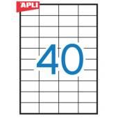 Etykiety samoprzylepne APLI 52.5x29.7 (100ark.) AP3130
