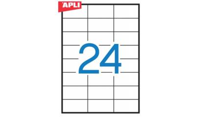 Etykiety samop. APLI 70x37 (100ark.) AP3135