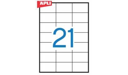 Etykiety samop. APLI 70x42.4 (100ark.) AP3136
