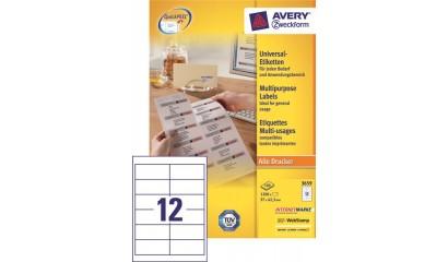 Etykiety samop. ZF Avery 97x42.3 (100ark.) 3659