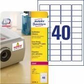 Etykiety samoprzylepne ZF Avery 45.7x25.4 (20ark.) TripleBond L6140-20