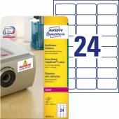 Etykiety samoprzylepne ZF Avery 63.5x33.9 (20ark.) TripleBand L6141-20