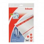 Etykiety grzbietowe do segregatorów ESSELTE 75mm do sam.druku (10szt) 20820