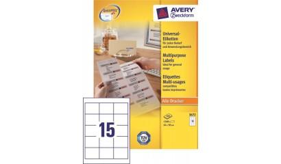 Etykiety samop. ZF Avery 64x50 (100ark.) EC3672