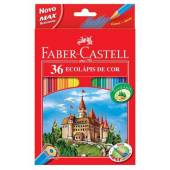 Kredki FABER CASTELL Zamek 36 kol. +temperówka 120136