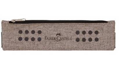 Piórnik saszetka FABER CASTELL Grip beżowy 573175