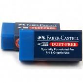 Gumka FABER CASTELL DustFree niebieska 187170