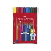 Flamastry FABER CASTELL Grip Color Marker 10kol. 155310