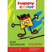 Blok techniczny HAPPY COLOR A3 / 10k, 170g, kolorowy przybory szkolne