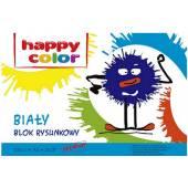 Blok rysunkowy HAPPY COLOR A3 / 20k,100g, biały