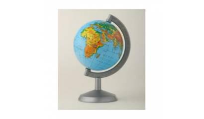 Globus fizyczny GŁOWALA 3D wys 48cm śr 320mm