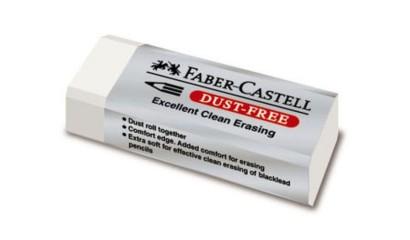 Gumka FABER CASTELL DustFree mała plastikowa FC187130