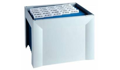 Miniarchiwum na teczki zawieszkowe HAN Karat A4 szare HN190511-13
