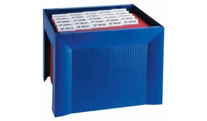 Miniarchiwum na teczki zawieszkowe HAN Karat A4 niebieskie HN190514-10