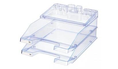 Zestaw 2 szufladek+przybornik HAN ProSet A4 jasnoniebieski HN1027973-47