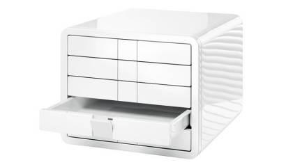 Zestaw 5 szuflad HAN iBOX A4 biały HN155112-09