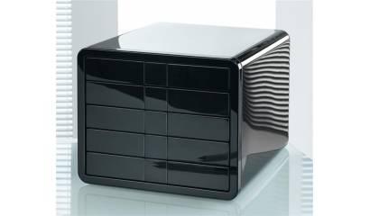 Zestaw 5 szuflad HAN iBOX A4 czarny HN155113-01