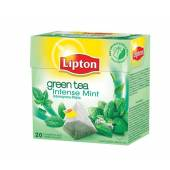 Herbata LIPTON - Piramidki Green Tea Intense Mint (20szt)