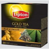 Herbata LIPTON - Piramidki Gold Tea (20szt)