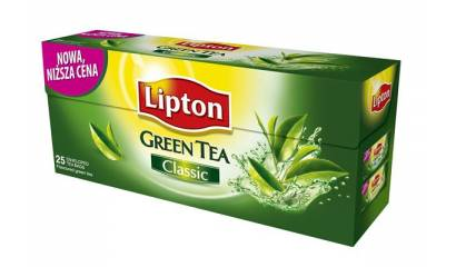 Herbata LIPTON Clear Green Tea Pure/Classic (25T)