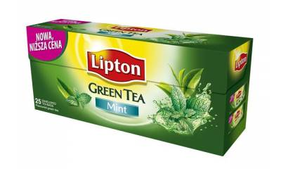 Herbata LIPTON Clear Green Tea Mint (25T)