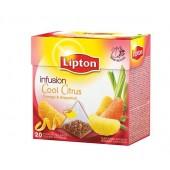 Herbata LIPTON - Piramidki Cool-Citrus (20szt)
