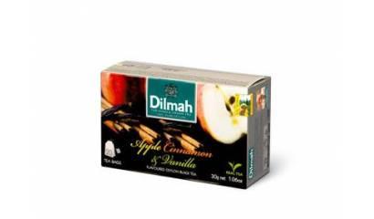 Herbata owocowa DILMAH Jabłko/Cinnamon/wanilia (20T)
