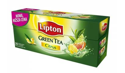 Herbata LIPTON Clear Green Tea Citrus (25T)