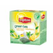 Herbata LIPTON - Piramidki Green Tea Lemon / Melisa (20szt)