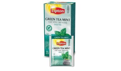 Herbata LIPTON Green Tea Mint (25szt) w kopertach