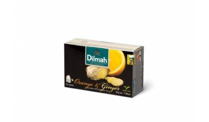 Herbata owocowa DILMAH Orange & Ginger (20T)