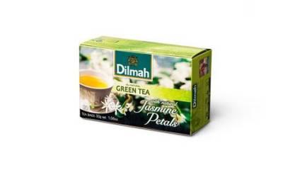 Herbata zielona DILMAH Pure Green Tea+Jaśmin (20T)