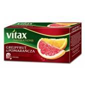 Herbata owocowa VITAX Inspirations grejpfrut / pomarańcza (20T)