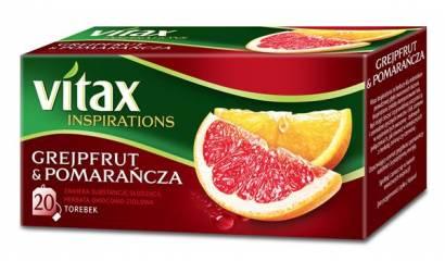 Herbata owocowa VITAX Inspirations grejpfrut/pomarańcza (20T)