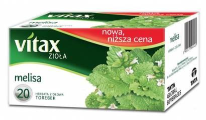 Herbata ziołowa VITAX melisa (20T)