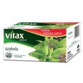 Herbata ziołowa VITAX szałwia  (20T)