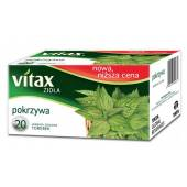 Herbata ziołowa VITAX pokrzywa  (20T)