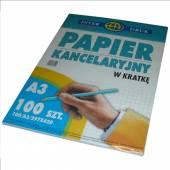 Papier podaniowy INTERDRUK A3/100k kratka