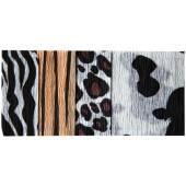 Krepina marszczona / bibuła INTERDRUK zebra