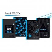 Zeszyt INTERDRUK Black&Blue A4/60k. kratka